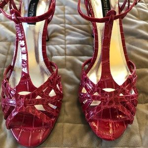 NWOT Size 8 Hot Pink Heels from WHBM